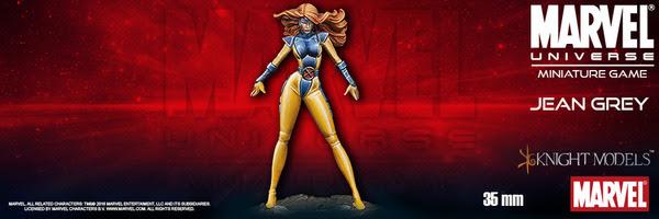 Batman Miniature Game Jean Grey