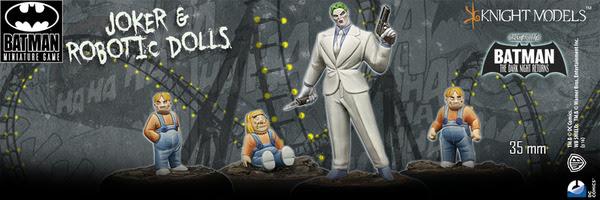 Batman Miniature Game Joker & Robotic Dolls