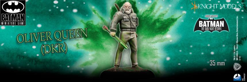 Batman Miniature Game Oliver Queen DKR