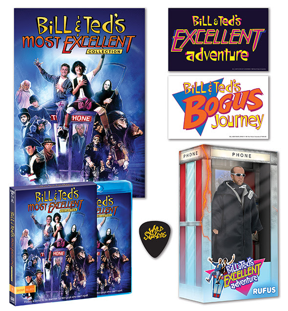 Bill & Ted's Most Excellent Collection from Shout! Factory - Including NECA Rufus Action Figure