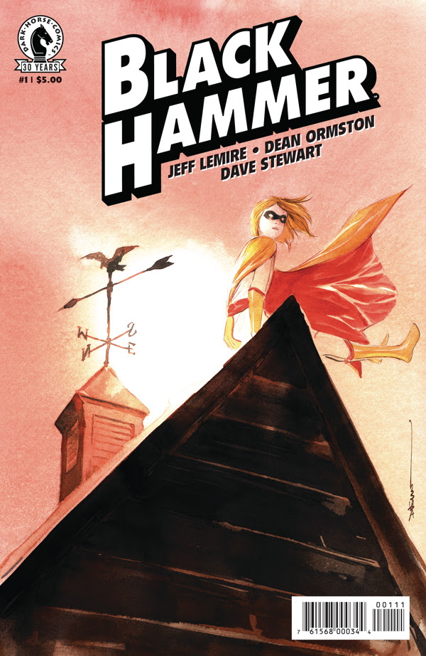 Black Hammer #1 Convention Exclusive Variant
