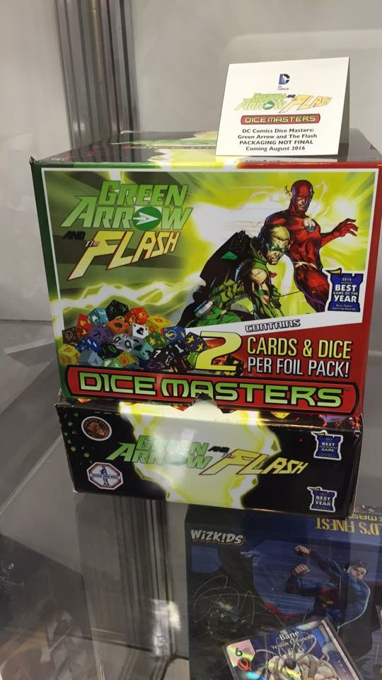 DC Dice Masters Green Arrow The Flash 1