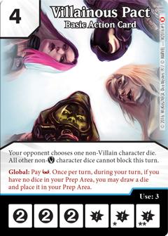 Dice Masters Villainous Pact OP