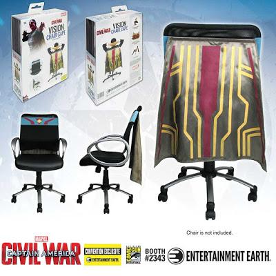 Exclusive Captain America Civil War Vision Chair Cape 2