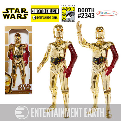 Exclusive Jakks Pacific C-3PO Action Figure with Red Arm 2