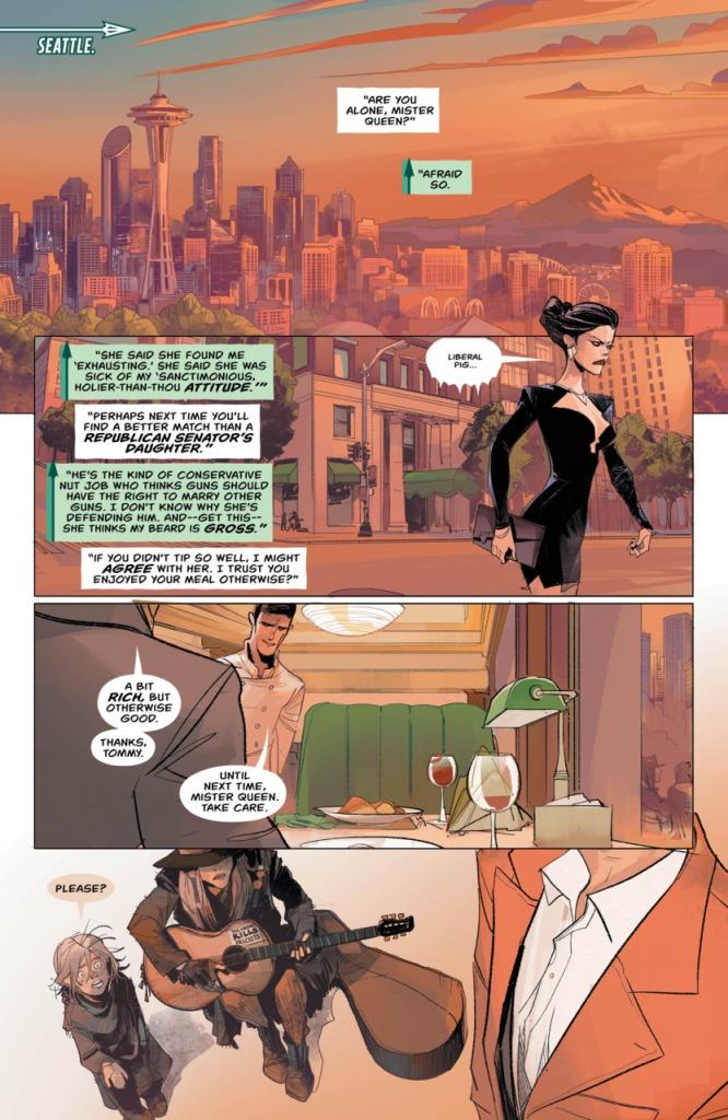 Green Arrow Rebirth page 1