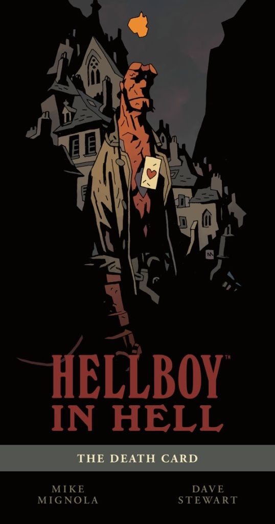 Hellboy in Hell Volume 2 The Death Card SDCC Exclusive Hardcover