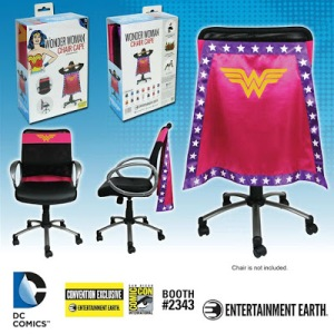 Limited Edition DC Comics Chair Capes 2