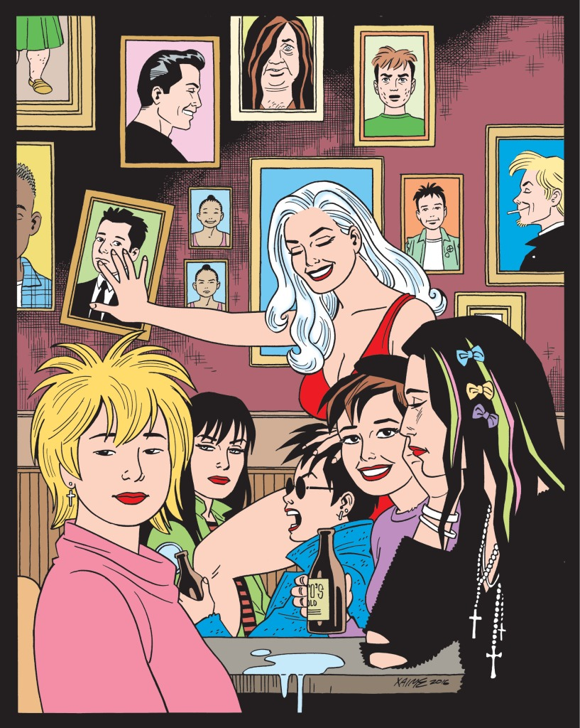 Love and Rockets Vol. IV #1 1