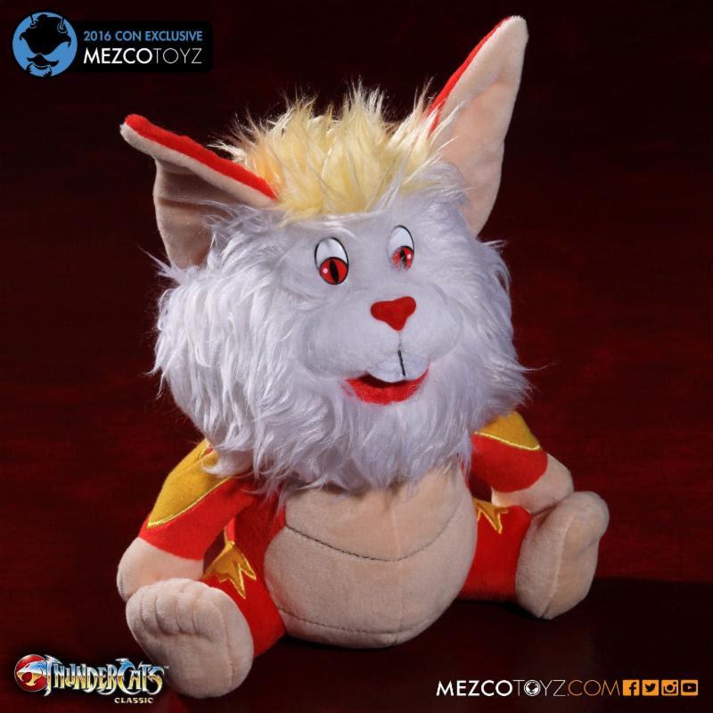 Mezco's Thundercats Snarf Plush Exclusive