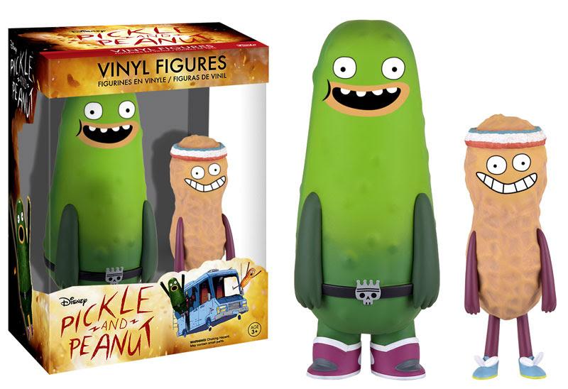 Pickle and Peanut Vinyl Figures