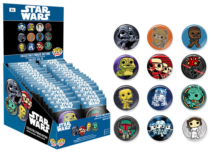 Pop! Buttons Classic Star Wars