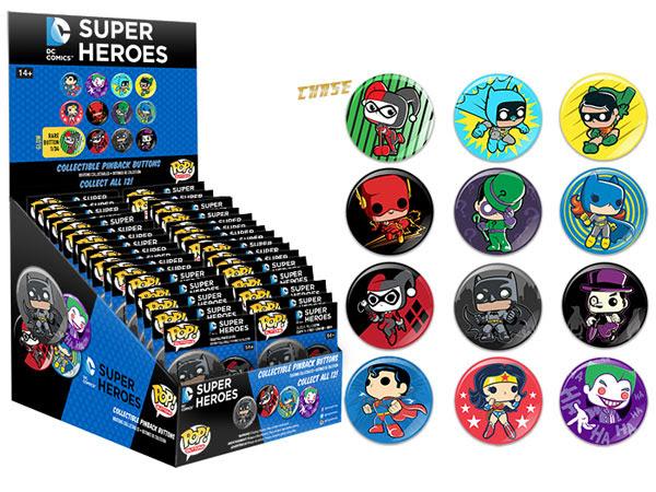 Pop! Buttons DC