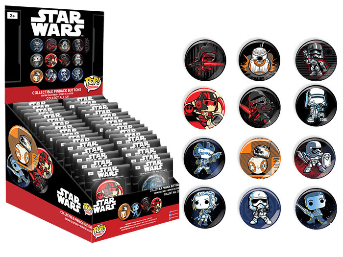 Pop! Buttons Star Wars Episode 7