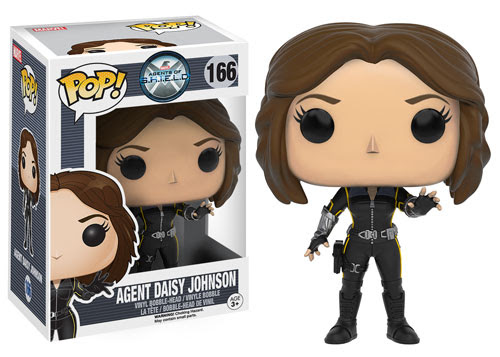 Pop! Marvel Agents of S.H.I.E.L.D. Agent Daisy Johnson