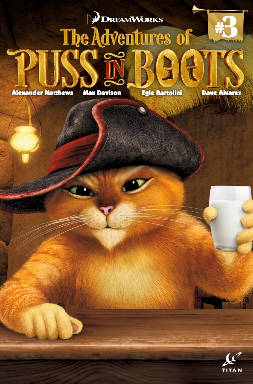 PUSS IN BOOTS COVER A