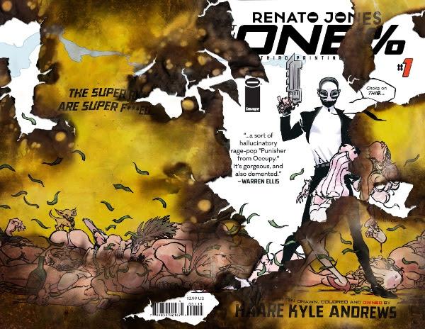Renato Jones The One % #1 third printing