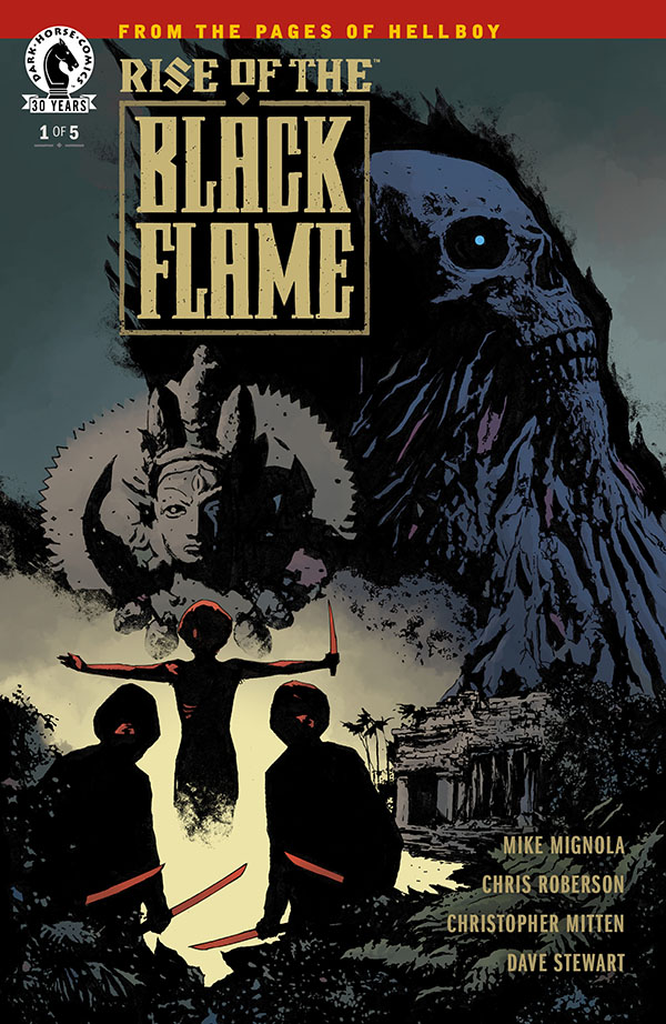 Rise of the Black Flame #1 CVR