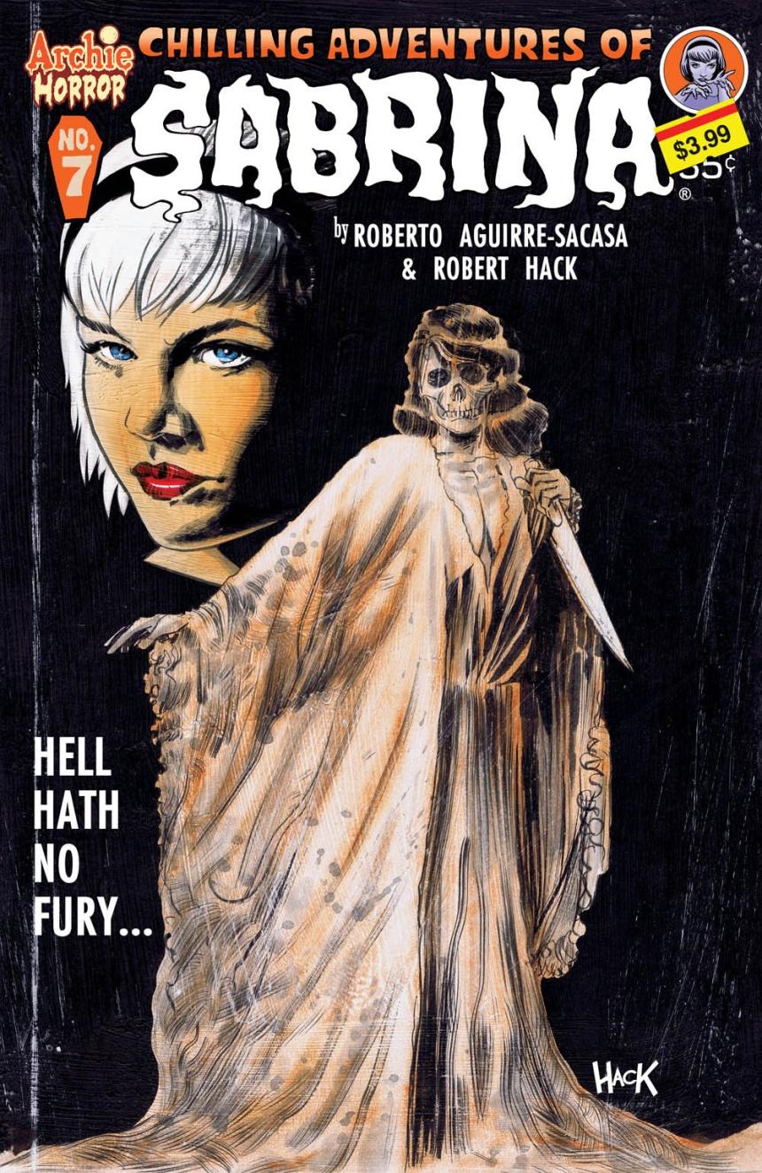 SABRINA #7 Cover by Robert Hack