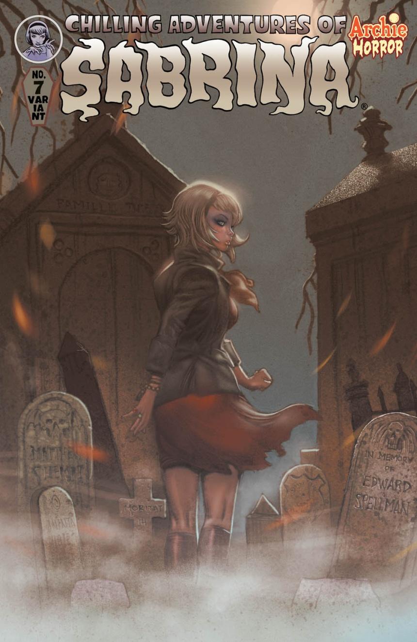 SABRINA #7 Variant Cover by Moritat