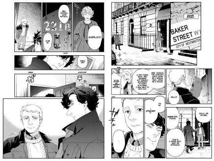 Sherlock Manga Preview