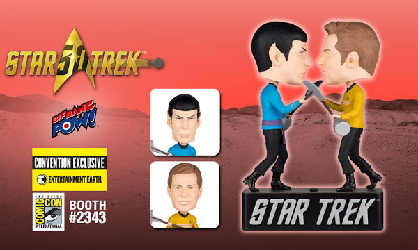 Star Trek Kirk vs Spock Dueling Bobble Heads 1