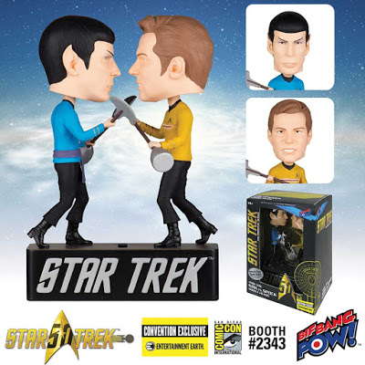Star Trek Kirk vs Spock Dueling Bobble Heads 2