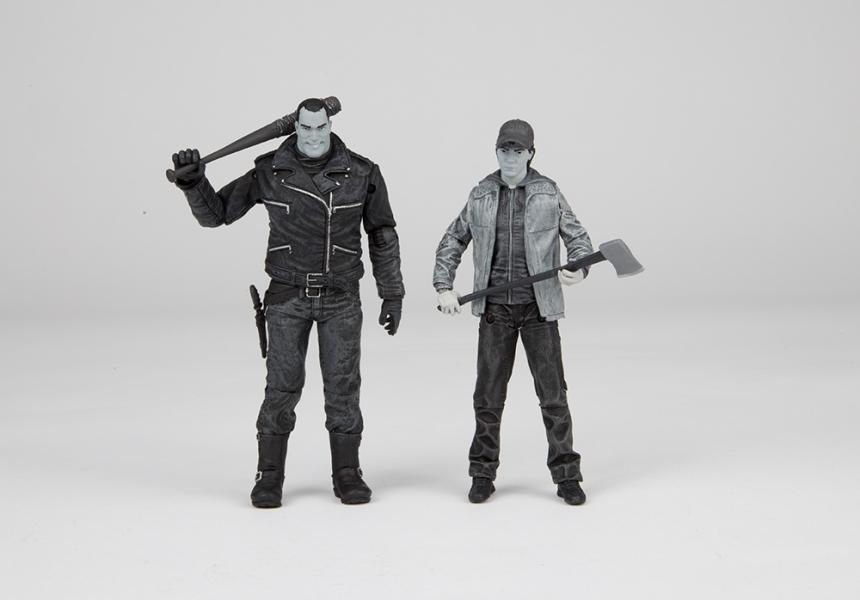 The Walking Dead's Negan and Glenn 2 pack Action figure Set 4
