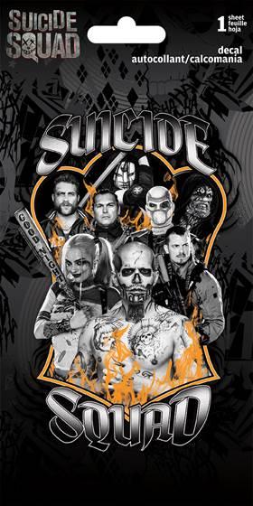 Trend International_Suicide Squad cast decal