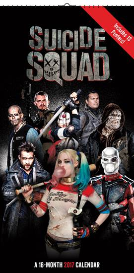 Trends International_Suicide Squad Calendar