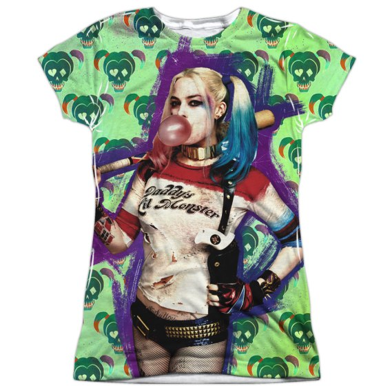 Trevco_Suicide Squad_Harley Quinn shirt