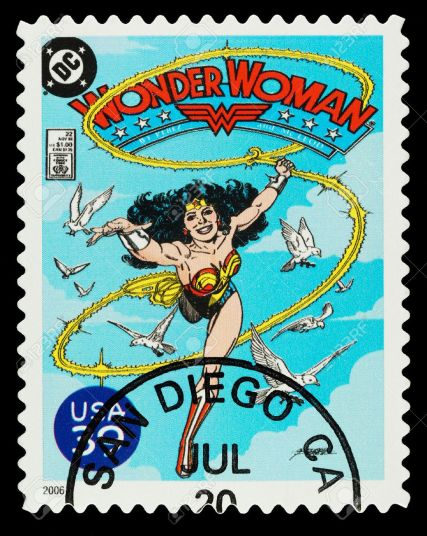 22715709-united-states-circa-2006-a-used-postage-stamp-showing-the-superhero-wonder-woman-circa-2006-stock-photo
