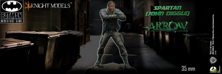 Batman Miniature Game Diggle CW