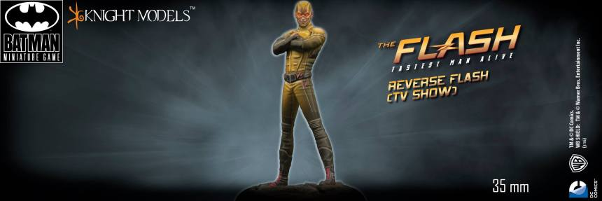 Batman Miniature Game Reverse Flash CW