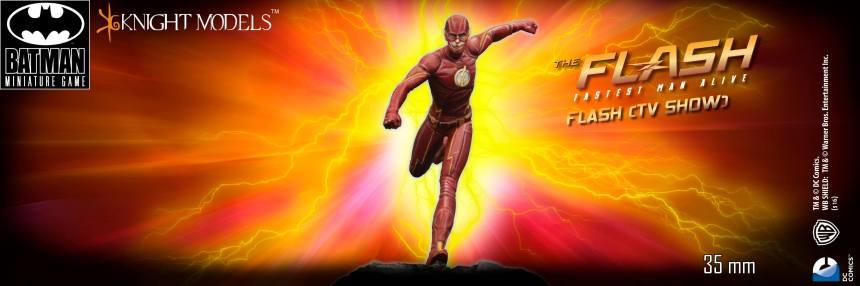 Batman Miniature Game The Flash CW