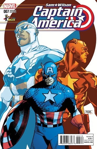 Captain America Sam Wilson #7 Wizard World