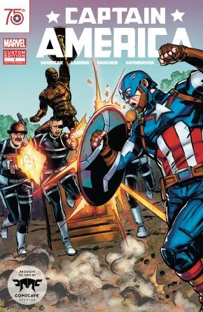 Comicave Custom Comic Cover
