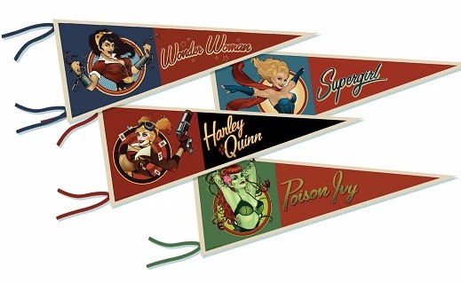 DC Comics Bombshells Pennant Collection 2