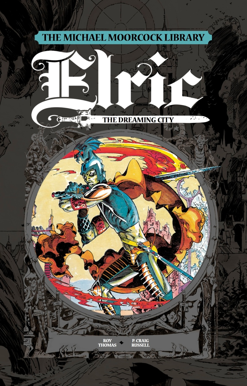 ELRIC THE DREAMING CITY COVER