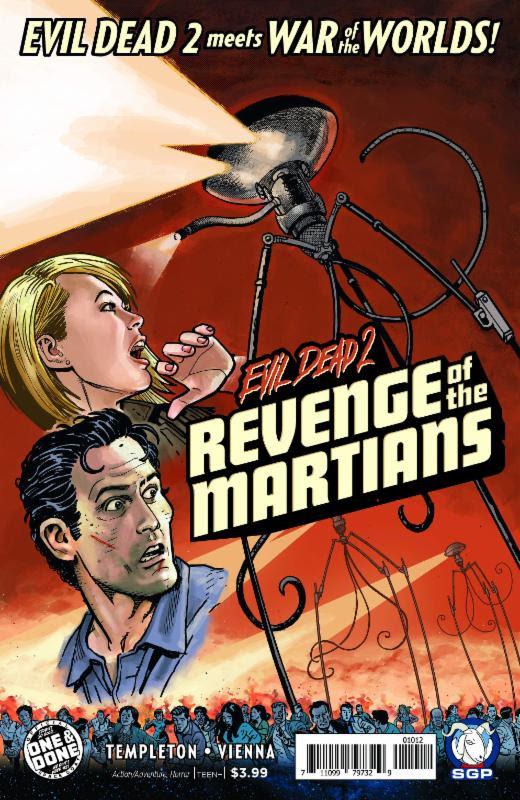 EVIL DEAD 2 REVENGE OF THE MARTIANS ONE-SHOT 2