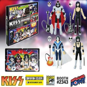 Exclusive KISS Unmasked Deluxe Action Figure Set 2