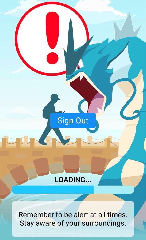 first-pokemon-go warning