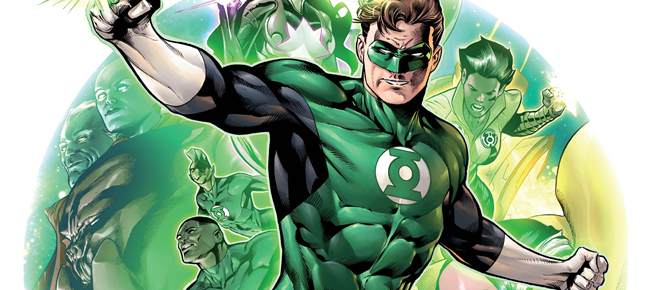 hal jordan and the green lantenr corps #1 featured