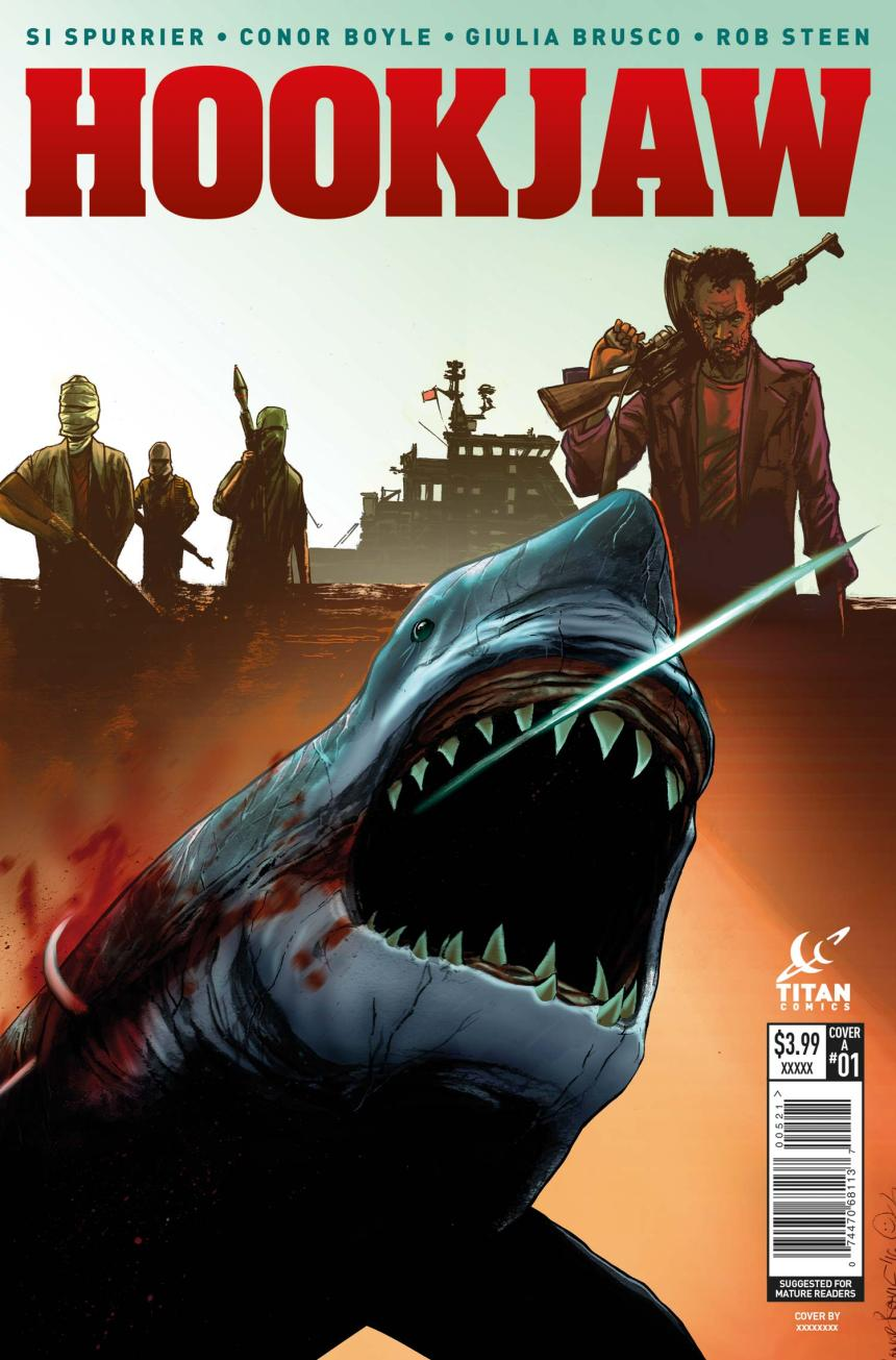 Hookjaw Cover A - Conor Boyle