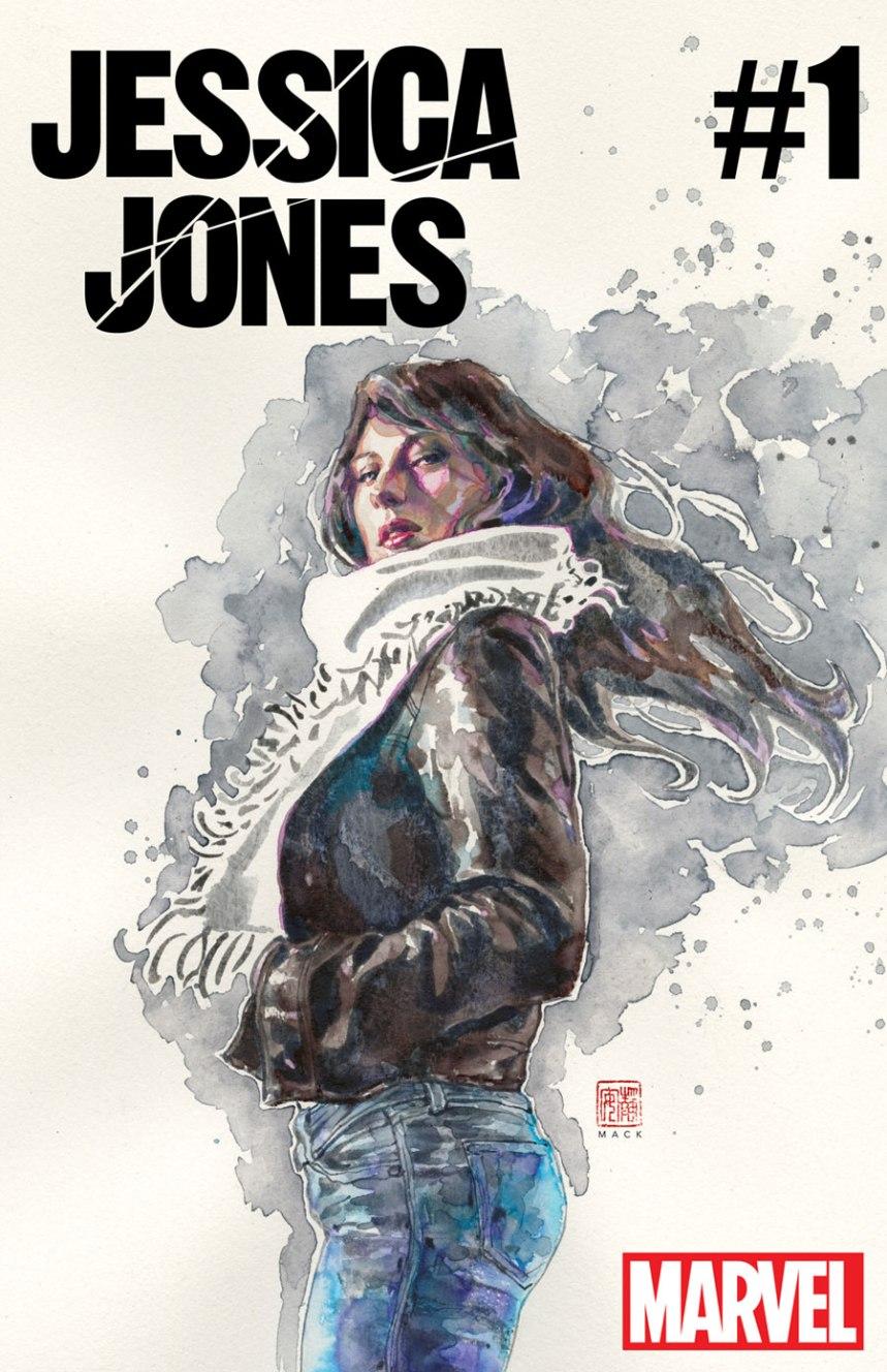 Jessica Jones #1 Cover