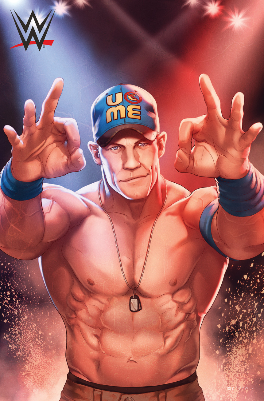 John Cena illustration by Jamal Campbell full