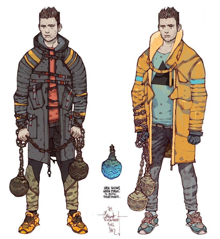 Jordan Chracter Designs by Jakub Rebelka