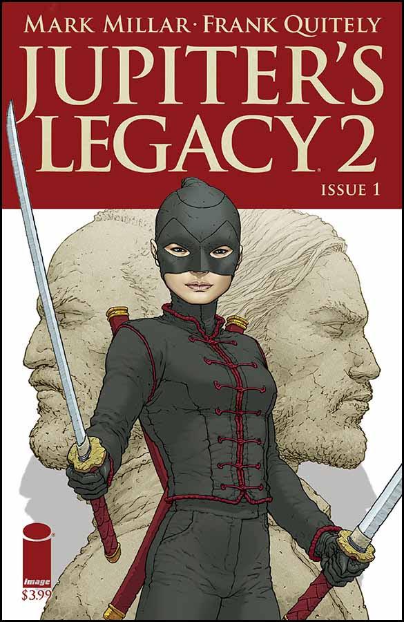 JUPITER'S LEGACY VOL. 2 #1 2nd printing