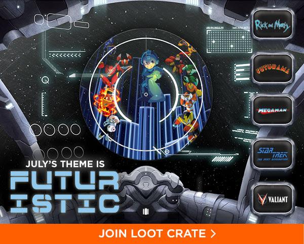 Loot Crate Futuristic
