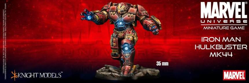 Marvel Universe Miniature Game Iron Man Hulkbuster MK44